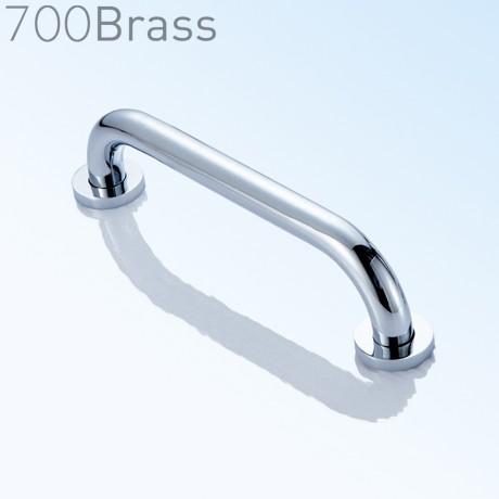 700Brass, 35cm, Grab Bar, Polished Chrome, FS01DG35, solid brass