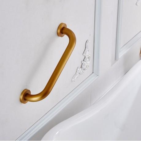 Bronze Bath Bathroom Grab Bar Support Handle Safe Shower Tub Helping Handgrip Older Children People Keeping Balance Towel Rail