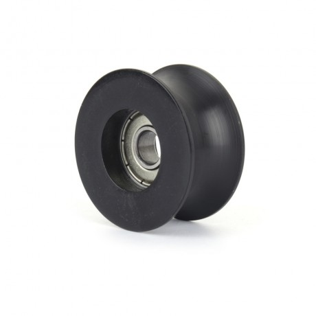 0840UU 8mm Groove Guide Pulley Sealed Rail Ball Bearing 8*40*20.5mm Window and Door Bearing