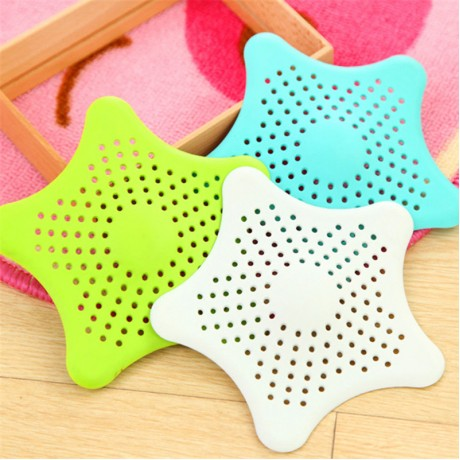 Silicone Kitchen Sink Filter Sewer Drain Cover Shower Drain Hair Colanders Strainer Filter Bathroom Floor Drain Prevent Clogging