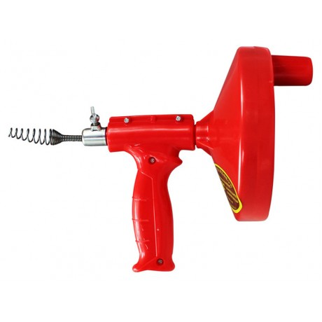 7 Meters Dredge Pipes New Design Kitchen Toilet Sewer Blockage Hand Tool Pipe Dredger Drains Sewer Sink Cleaning Clogs