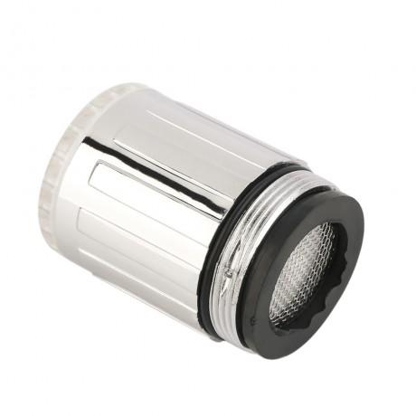 Temperature Sensor Intelligent Recognition Temperature Different Temperation Different LED Light Color Water Tap Faucet Shower