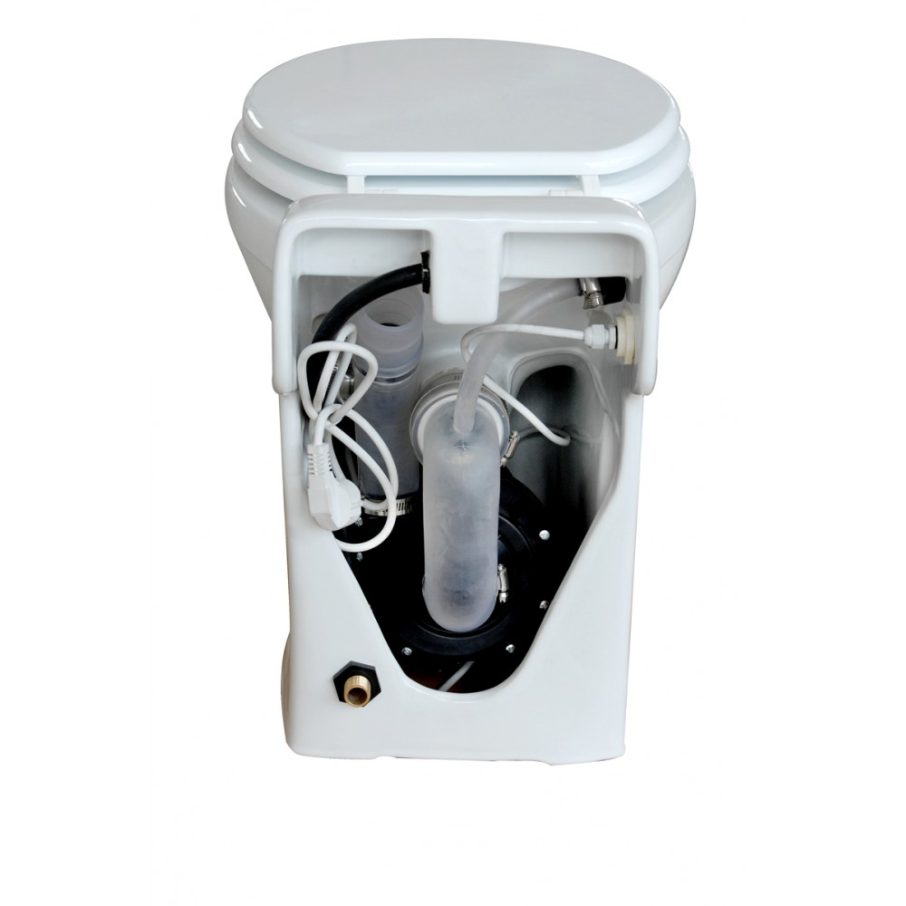 600W smart broyeur portable toilet for caravan and boat