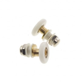 25mm Dia Partiality Shower Bath Door Rollers Runners Wheels Pulleys  Good Quality