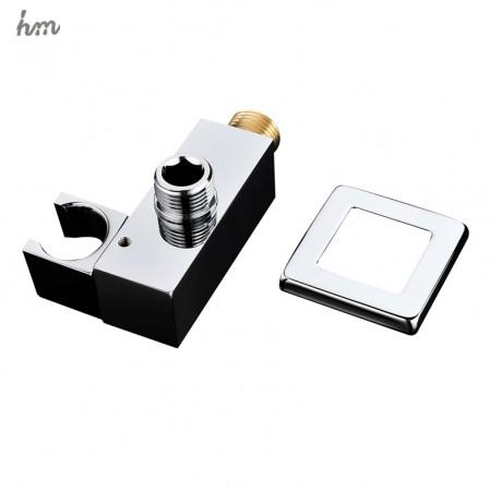 hm Shower Holders Adjustable Shower Seat Shower Stand Shower Accessories Handheld  Brass Wall Bracket Fixed Base