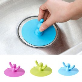 Hot Sale Good Quality Cute Shape Kitchen Basin Sink Floor Drain Water Stopper Sink Plug Cover Strainer