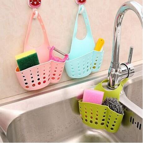 Portable Home Hanging Drain Bag Basket Bath Storage Tools Sink Holder Bathroom Accessories Holder Soap Kitchen Dish Cloth Sponge