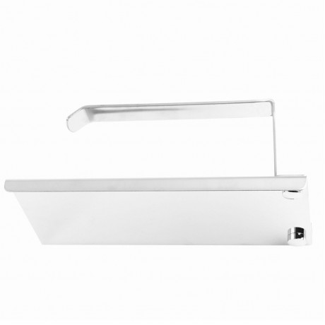 DSHA Hot Stainless steel 304 bathroom paper phone holder with shelf bathroom Mobile phones towel rack toilet paper holder tiss