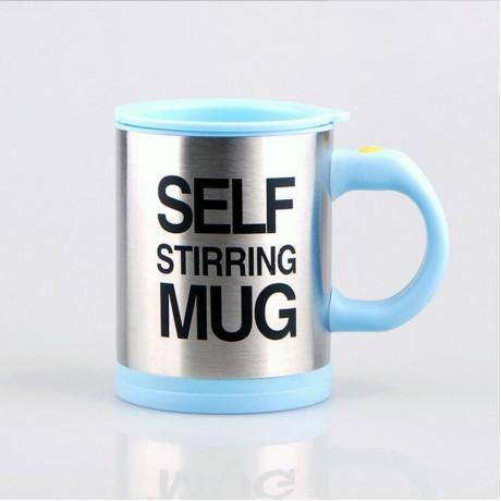 BAISPO 400Ml Mug Automatic Electric Lazy Self Stirring Mug Automatic Coffee Milk Mixing  Mug Tea  Smart Stainless Steel Mix cup