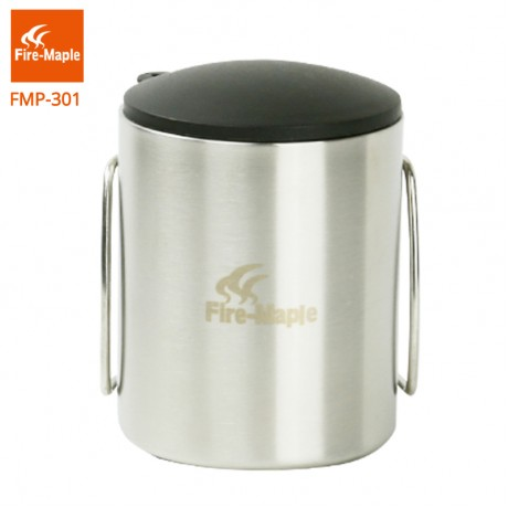 Fire Maple Outdoor Lightweight Portable Climbing Camping Trip Travel Stainless Steel Double Insulation Cup 115g 220ml FMP-301