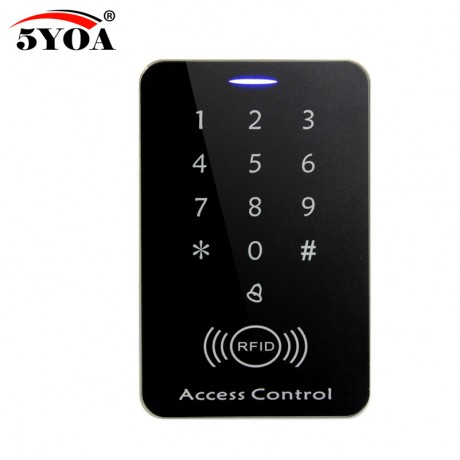 New RFID Access Control System Security Proximity Entry Door Lock strong anti-jamming Induction distance Support the iron door