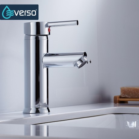 EVERSO Waterfall Faucet Basin Faucet Single Handle Water Taps Bathroom Faucet Bathroom Sink Faucet Tap Torneira
