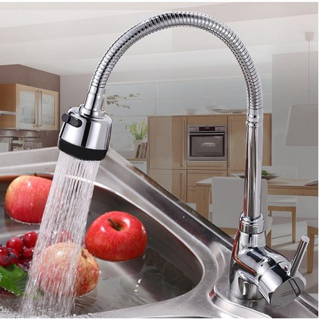 New Zinc Alloy Rotating Faucet 360 Degree Rotatable Hot Cold Mixer Tap Kitchen Wash Basin Faucets For Home Bathroom Tools
