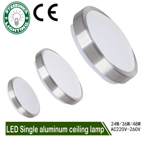 Ceiling Lights LED modern lighting bedroom livingroom lampshades surface mounted balcony 24W 36W 48W AC220V-260V ceiling lamp