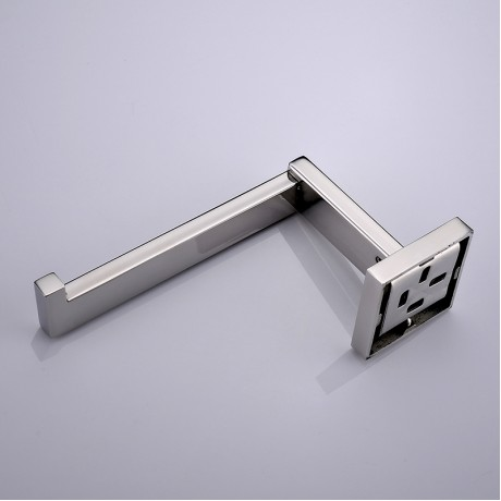 SUS 304 Stainless Steel Toilet Paper Holder Bathroom Toilet Holder For Roll Paper Towel Square Bathroom Accessories