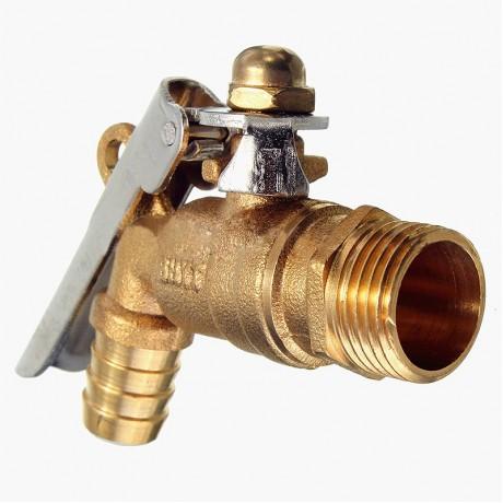 "1/2"" 2cm Brass Thread Waterfall Bathroom Basin Faucet Locked Vanity Sink Outdoor Garden Mixer Water Tap Mayitr"