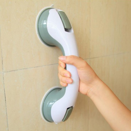 ABS Bathroom Tub Super Grip Suction Handle Shower Safety Cup Bar Handrail Safety Helping Handle Grab Bars
