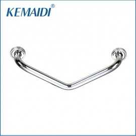 KEMAIDI Luxury New Free 43.5cm Bathroom Safety Grab Bar Shower Room Chrome Hand Rail Stainless Steel