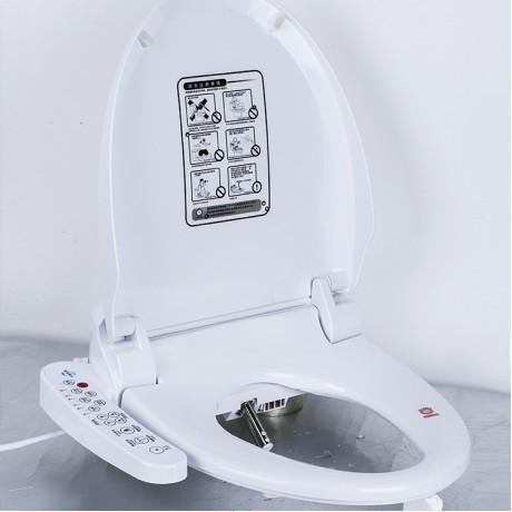 Intelligent Heated Toilet Seat Cover Smart Bidet Toilet Seats WC Sitz Water Closet Automatic Toilet Lid Female Buttocks Washing