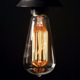 st64 220v Incandescent light bulb 40w bulbs decorative filament bulb lighting bombilla E27 pendant lamp vintage edison bulb