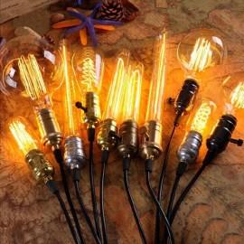 E27 220V Edison Lamp Bulbs Vintage Retro Pendant Lamps Bombilla Illumination Filament Bulb 40w Holiday lampada for home decor