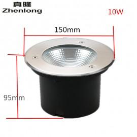 Zhenlong Led Underground Lamp 10W 20W 30W 50W Waterproof IP67 High Power COB Buried Lights Outdoor Flood Light AC85-265V