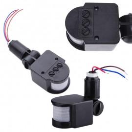 Motion Sensor Light Switch Outdoor AC 110V 220V Automatic Infrared PIR Motion Sensor Wall Light Switch for LED Light 12M