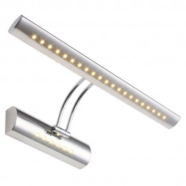 LED Mirror Front Light 7W 5W SMD 5050 3014 bathroom modern pouplar Bath Wall Lamp Stainless Steel White/warm white