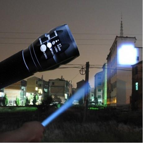 LED Flashlight Lanterna de led linternas Torch 2000LM lanterna tatica Torch Zoomable flashlight Torch light bike Light camping
