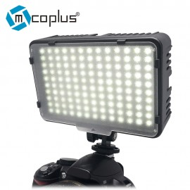 Mcoplus 130 LED Video Light Photography Lamp for Canon Nikon Sony Pentax Panasonic Samsung Olympus DV Camera Camcorder VS CN-126