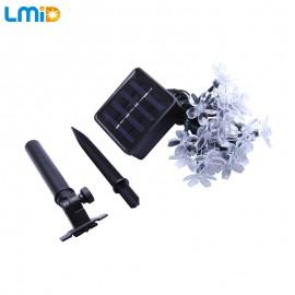 LMID Solar Lamps Flower Blossom Decorative Lights Waterproof White Fairy Garden Outdoor Christmas Solar Led Light
