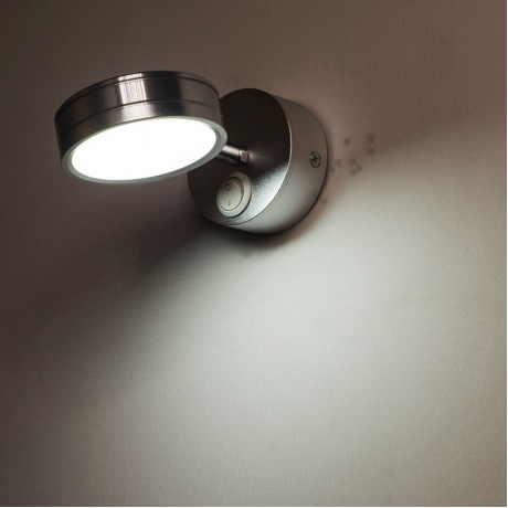 [YGFEEL] 5W LED Wall Lamps With Switch Bedroom Bedside Lamp Reading Light Corridor Stair Lighting Direction Adjustable AC90-260V
