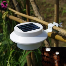 Battery White Super Bright Yard Lamp Solar Panel Garden Light 3 LED Lights Outdoor Home Decor Deft Design Garden Solar Light