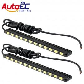AutoEC Led Daytime Running Light DRL 15/18/21/24 smd 5630 leds daylight fog light led strip lamp 7000k for auto car #LM150
