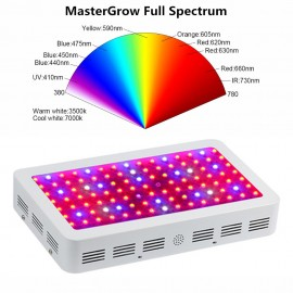 MasterGrow Full Spectrum 300W 600W 800W 1000W 1200W 1500W 1600W 1800W 2000W Double Chip LED Grow Light For All Indoor plants