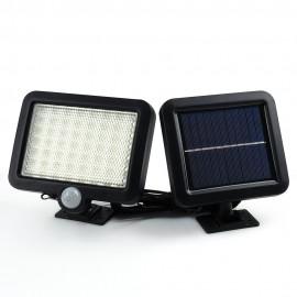 Solar Led Powered  Garden Lawn Lights Outdoor Infrared Sensor Light 56 LED Solar Motion Detection Wall Light