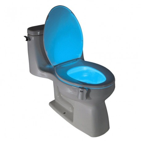 8 Colors Bowl Bathroom Night Light Lamp LED Light Human Motion Sensor Automatic Toilet Seat