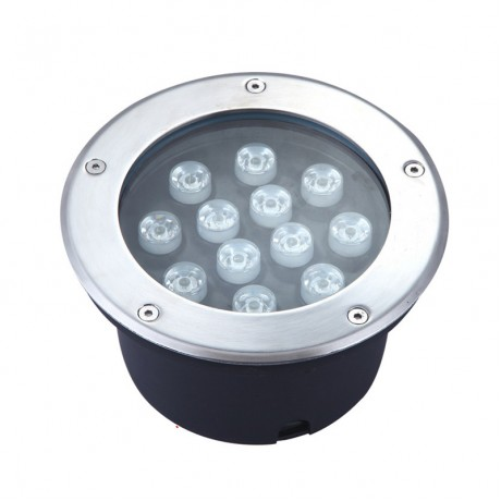 6W 9W 12W LED underground light red blue green outdoor buried recessed floor lamp IP65 Landscape stair lighting AC85-265V input