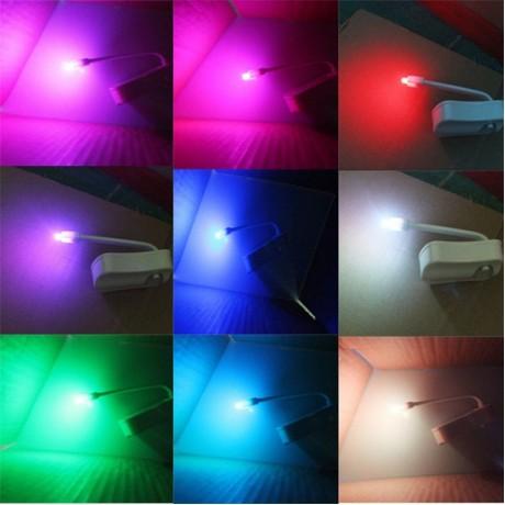 8 Colors Bowl Bathroom Night Light Lamp LED Light Human Motion Sensor Automatic Toilet Seat