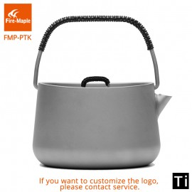 Fire Maple Panna Series Titanium Outdoor Camping Picnic Coffee Tea Pot 1L Teapot Kettle Ultra Light 185g