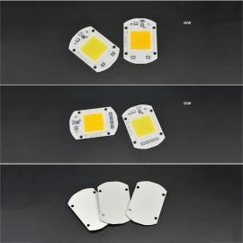 20W 30W 50W LED Chip 110V 221V LED COB Bulb Chip Input IP65 Smart IC Fit For DIY LED Flood Light LED Modules