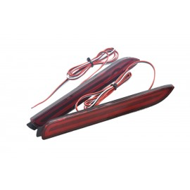 For Toyota Wish Sienna Camry Reiz Verso harrier bumper Reflector LED Guide light back Tail Brake lamp for Toyota bumper