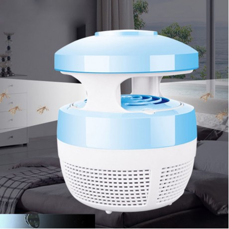 220V 5W USB Charge Mosquito Killer Light Smart Optically Controlled Safety Insect Killing Lamp For Living Room Bedroom Kitchen