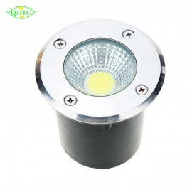 AC85-265V IP68 5W 10W Buried Lamp Inground Lighting Outdoor COB LED Underground Lamp Light DC12V Garden Light Yard R G B