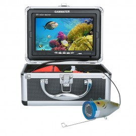 "GAMWATER 7"" Inch HD 1000tvl Underwater Fishing Video Camera Kit LED Infrared Lamp Lights Video Fish Finder 15M 20M 30M 50M"