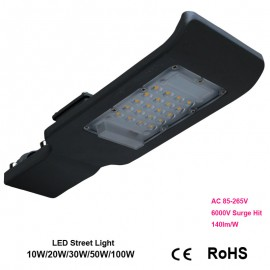 20W 30W 50W LED Street Lights  Road Lamp waterproof IP65 SMD led chip lumen 130-140lm/w AC85-265V led street light