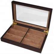 CHIYODA 6 Grid Eyeglasses Box Sunglasses Storage Case Jewel Display Organizer