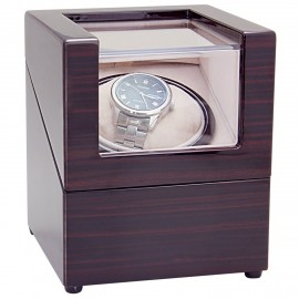 CHIYODA Wood Handmade Inserted Holder Automatic Single with Mabuchi Motor