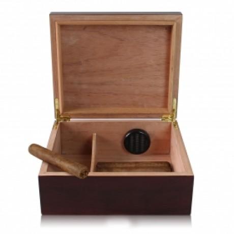 CHIYODA Spanish Cedar Wood Humidor Hold 30 Cigars Humidor Cigar Storage